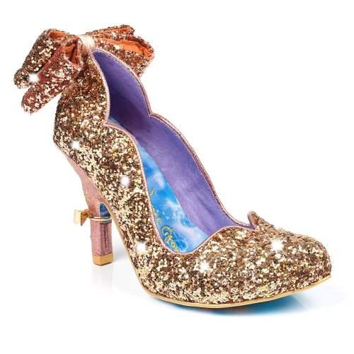 Irregular Choice - Gracious Dreamer Sparkling Glitter Heels