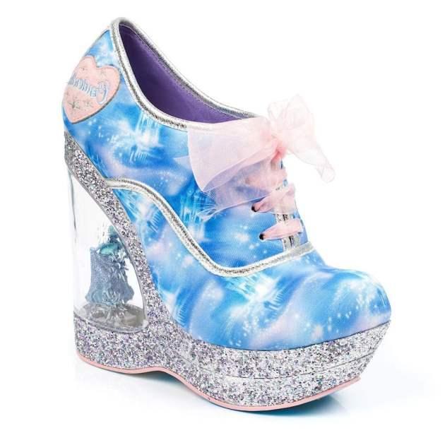 Irregular Choice - Call Me Cinders Glitter Heels
