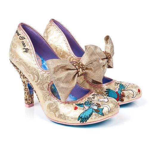 Irregular Choice - So This Is Love Glitter Heels
