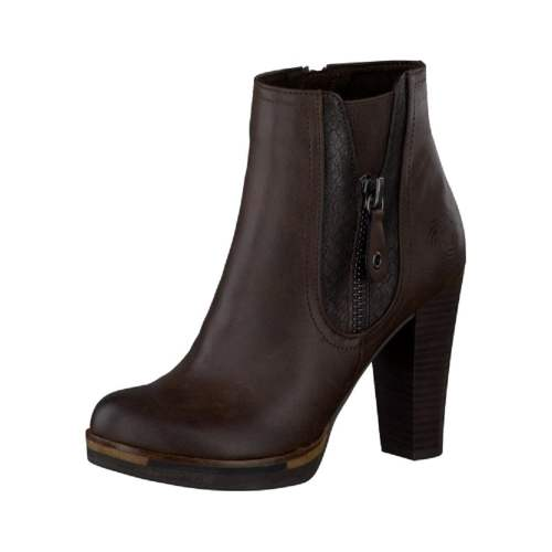 Marco Tozzi - Mocca Heeled Ankle Boots