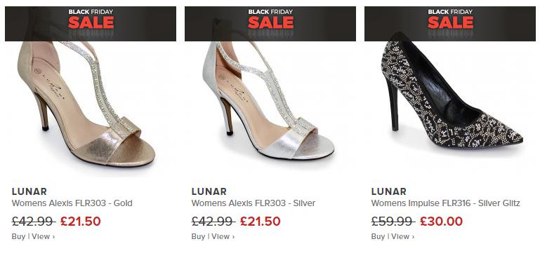 Millars Shoe Store Black Friday Sale - Lunar