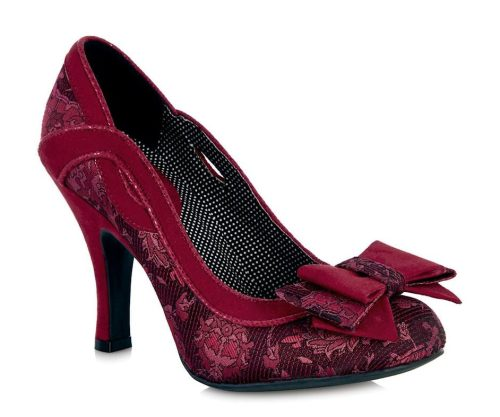 Ruby Shoo - Ivy Red Heeled Shoes